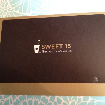 starbucks app reward card