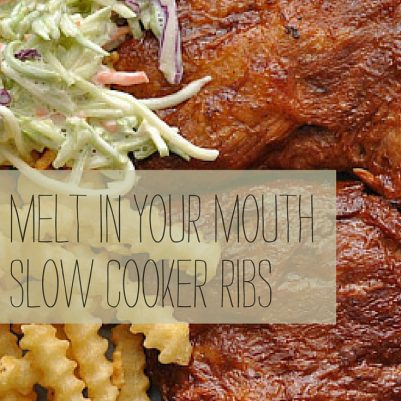 mommydo.com | Melt-in-your-mouth slow cooker ribs | quick and easy and delicious ribs you make in your crockpot