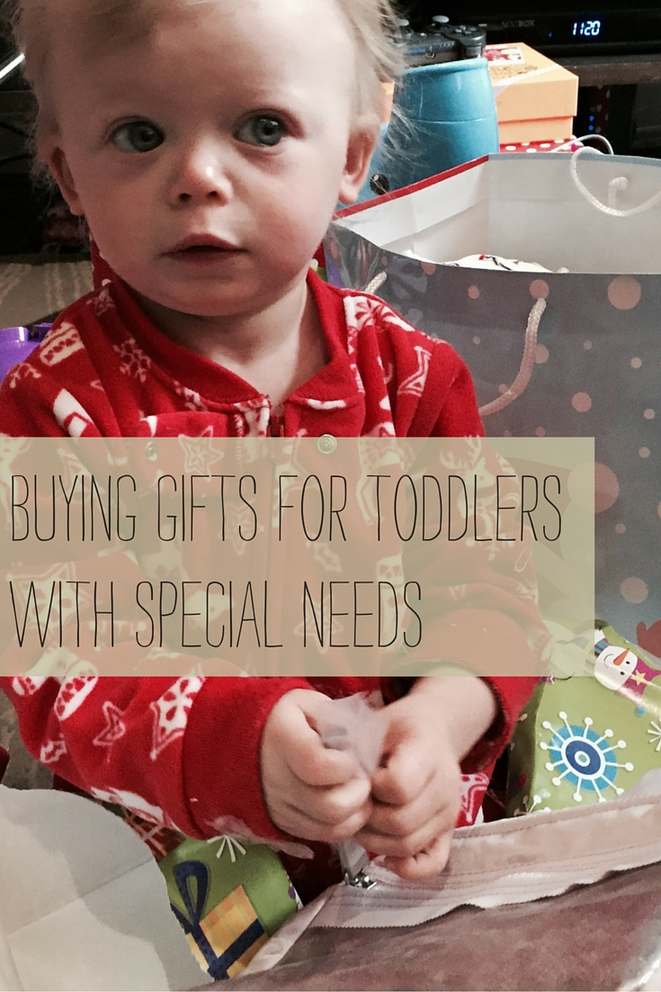 mommydo.com | 5 tips for buying gifts for toddlers with special needs from a Mom of a child with Williams Syndrome