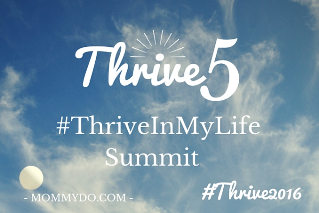 Thrive summit cloud graphic