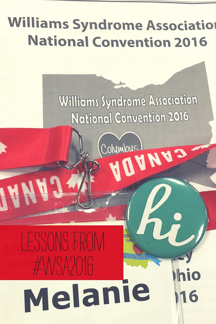 Williams Syndrome Wednesday: 5 lessons from #WSA2016