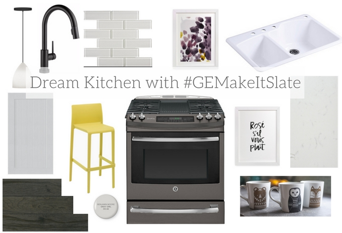 Dream Kitchen with #GEMakeItSlate