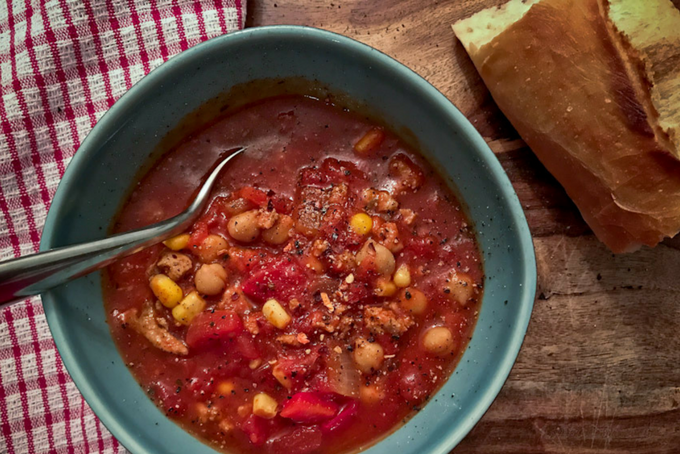 Weeknight Easy Turkey Chili