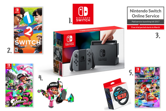 mommydo.ca || Nintendo Switch Edition Five Faves Friday