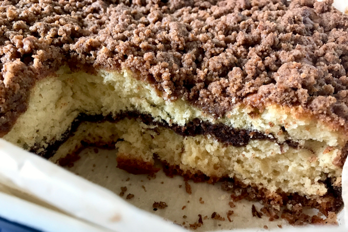 mommydo.com || Lactose-free Cinnamon Coffee Cake Filling